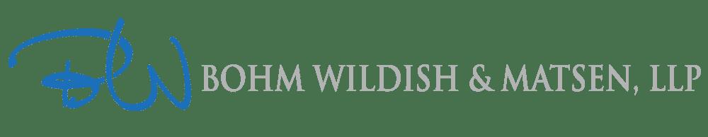 Bohm Wildish & Matsen, LLP Logo